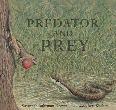 Predator and Prey book cover green with snake and rodent
