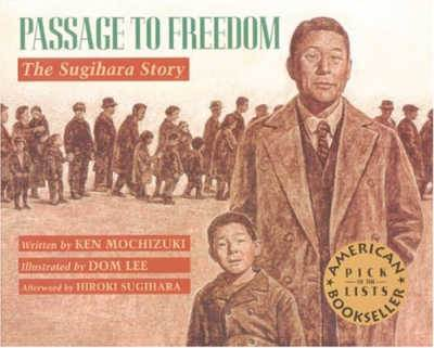 Passage to Freedom book cover showing Japanese Man and boy