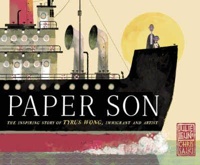 Paper Son book cover showing steam ship