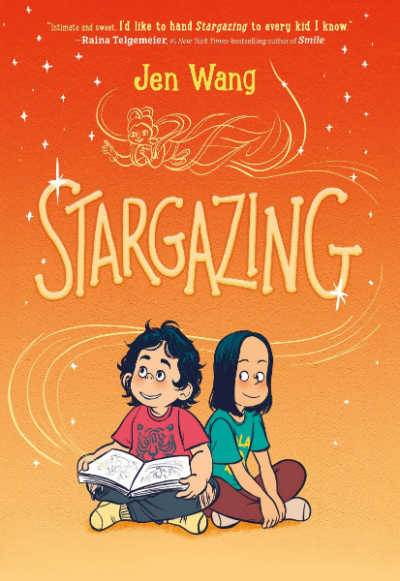 Stargazing graphic novel book cover