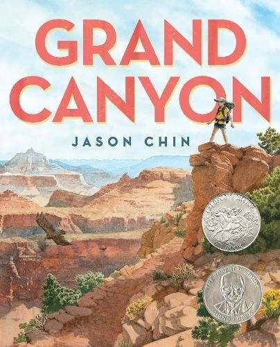 Grand Canyon book cover by Jason Chin