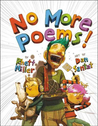 No More Poems silly book cover