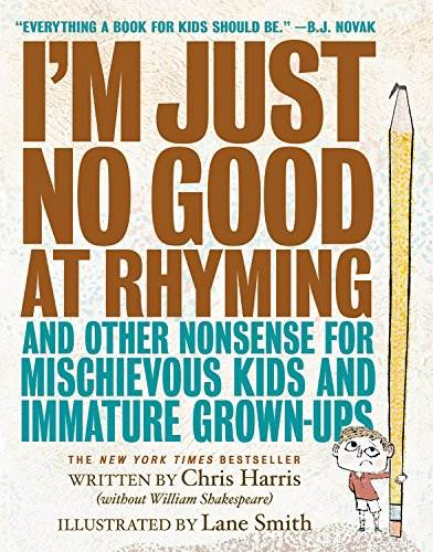 I'm Just no good at rhyming book cover