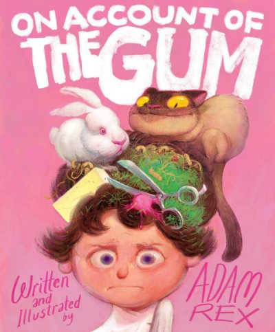 On Account of the Gum pink book cover