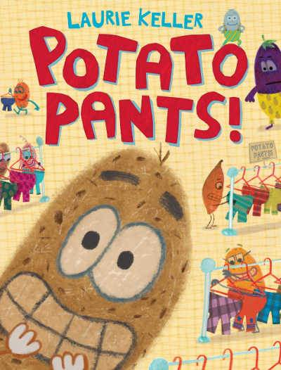 Potato Pants silly book cover featuring grinning potato