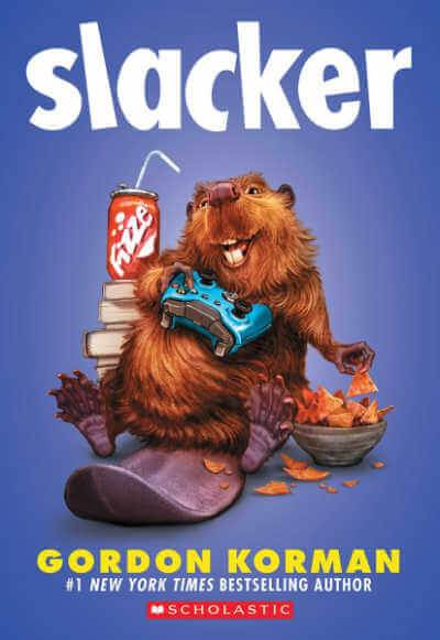 Slacker book cover showing gopher with video game controller