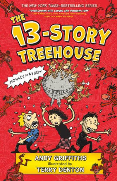 The 13 Story Treehouse book cover
