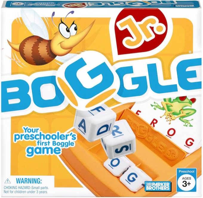 Boggle Jr game box