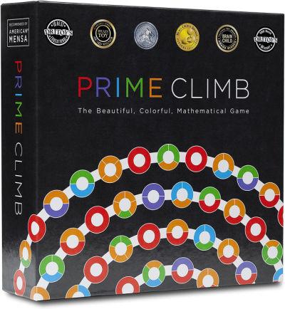 Prime Climb math game in box