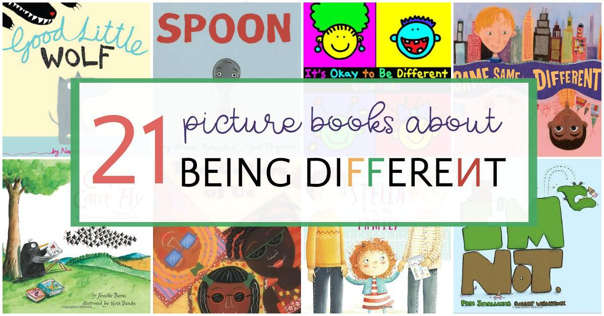 Children's Books about Being Unique, Different & Yourself ...  |Being Different Books