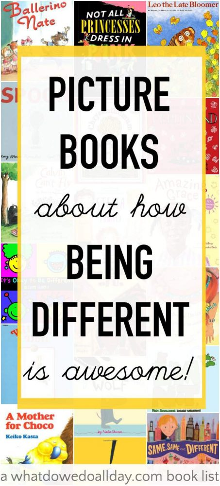 Different Is Awesome! Kids Picture Book by Ryan Haack ...  |Being Different Books