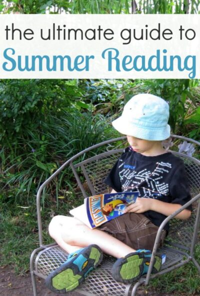 Summer reading list of book lists, resources, tips and activities.